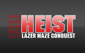 Graphic for 'The Heist' affordable laser maze