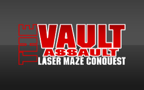 Graphic for 'The Vault' popular laser maze